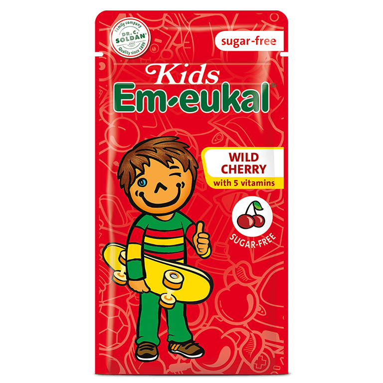 Kids Em-eukal Wild Cherry