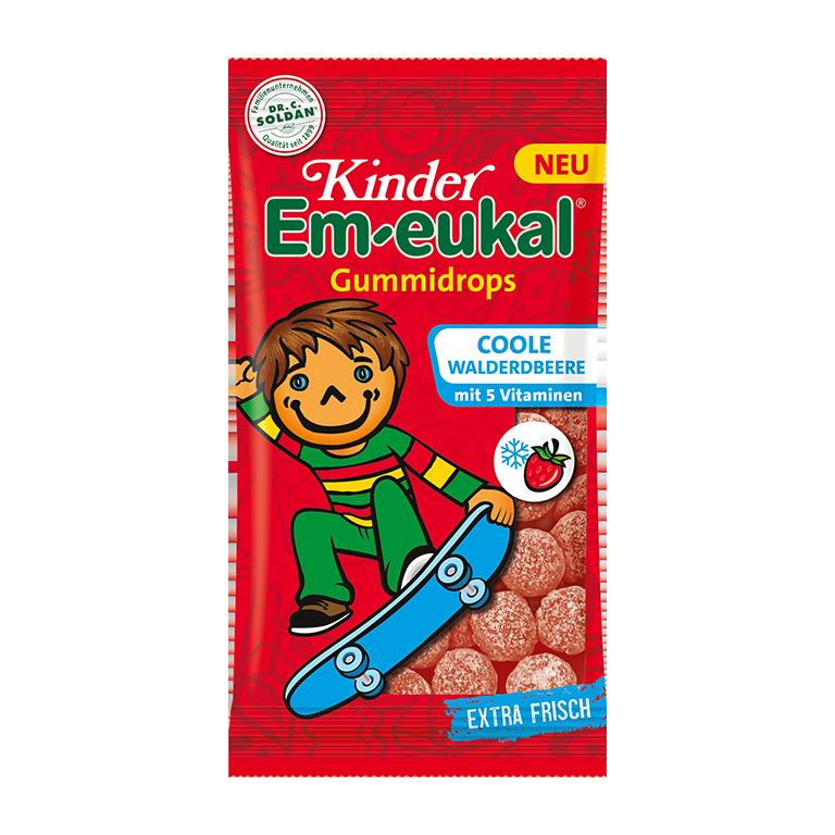 Kinder Em-eukal Coole Walderdbeere Gummidrops