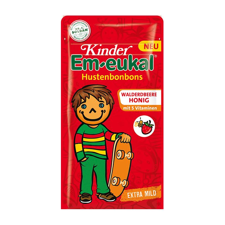 Kinder Em-eukal Walderdbeere-Honig
