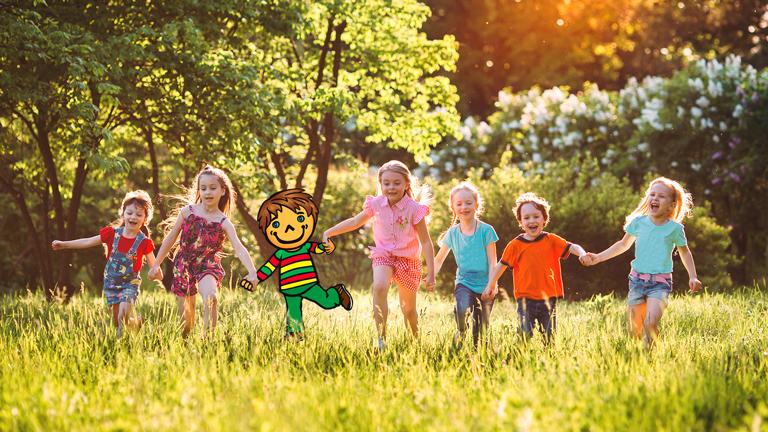 Kids Em-eukal - Nur echt mit der Fahne
